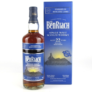 Benriach 22 Year Old Moscatel Finish