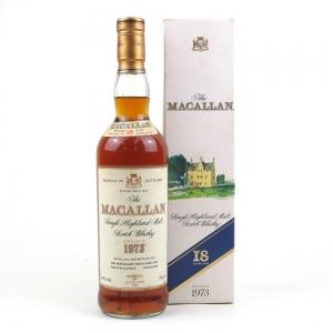 Macallan 1973 18 Year Old