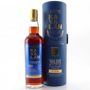 Kavalan Solist Cask Strength Vinho Barrique