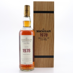 Macallan 1978 Fine and Rare 39 Year Old