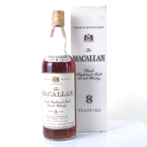 Macallan 8 Year Old 1970s