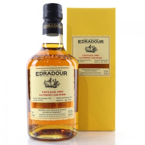 Edradour 1993 Signatory Vintage 19 Year Old / Sauternes Cask Finish