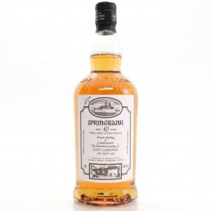 Springbank 10 Year Old Decommissioning HMS Campbeltown