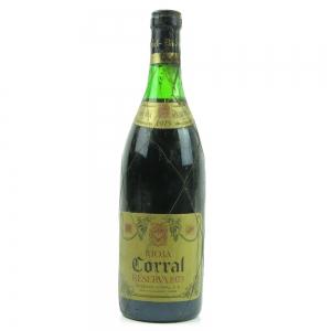 Corral 1973 Rioja Reserva