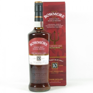 Bowmore 10 Year Old Devils Cask Chapter 1 front