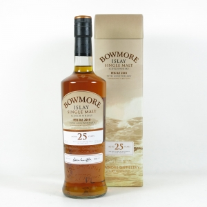 Bowmore 25 Year Old Feis Ile 2010 25th Anniversary front