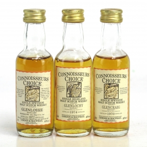 Highland & Speyside Gordon and MacPhail Miniatures 3 x 5cl