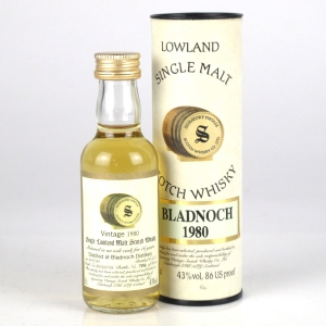 Bladnoch 1980 Signatory Vintage 16 Year Old Miniature 5cl
