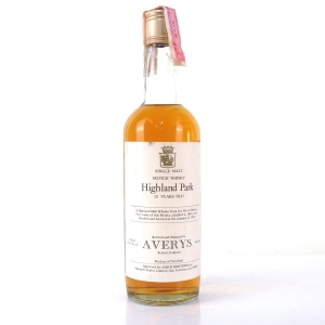 Highland Park 1963 Averys for Corti 15 Year Old / US Import