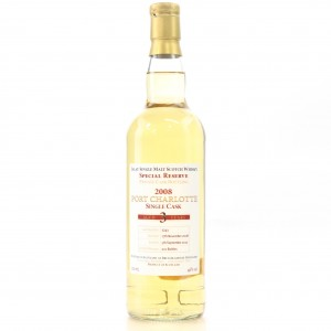 Port Charlotte 2008 Private Cask 3 Year Old #3243
