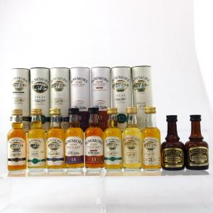 Bowmore Miniature Selection x 10