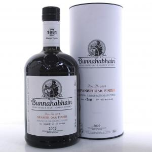Bunnahabhain 2002 Spanish Oak Finish / Feis Ile 2018
