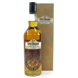 Speyburn 1973 Highland Selection 27 Year Old