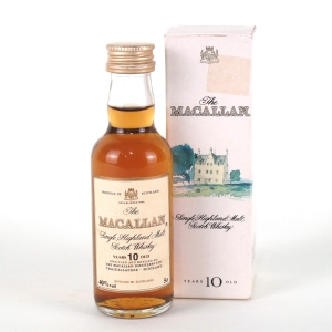 Macallan 10 Year Old 1990s 5cl Miniature