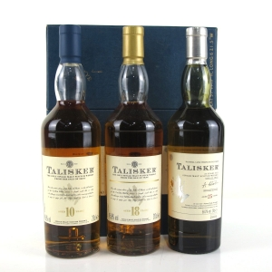 Talisker Gift Pack 3 x 20cl / Including 25 Year Old 2004 Release