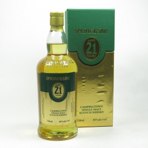 Springbank 21 Year Old (US Import) 75cl
