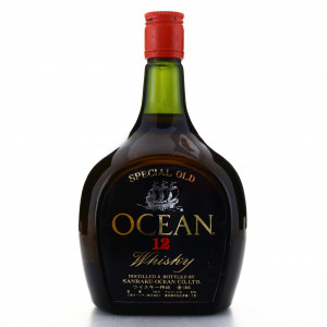 Ocean Whisky 12 Year Old 1980s