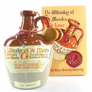 Ye Whisky of Ye Monks De Luxe Scotch Whisky Decanter 1 Litre