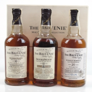 Balvenie Malt Master's Selection / Including 10, 12 and 25 Year Old (1974) 3 x 20cl