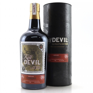 Caroni 1998 Kill Devil 20 Year Old Rum / The Whisky Barrel