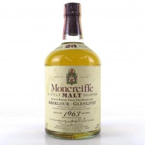 Aberlour 1963 Moncreiffe 23 Year Old / Meregalli Import