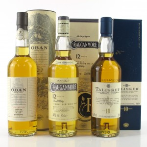 Classic Malt Selection - Cragganmore / Talisker / Oban 3 x 20cl