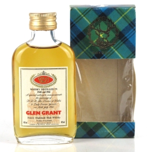Glen Grant Royal Marriage 1948 - 1961 Miniature 5cl