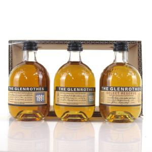 Glenrothes 1991, 1994 & Select Reserve 3 x 10cl