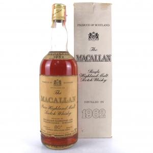Macallan 1962 Campbell, Hope and King / Rinaldi Import