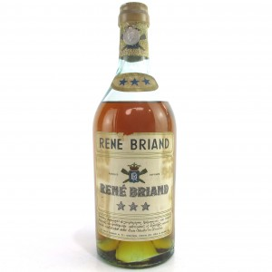 Rene Briand 3 Star Brandy 1940s