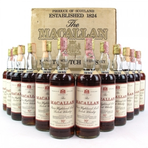Macallan 1938 Pinerolo Import Complete Case