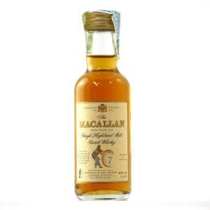 Macallan 7 Year Old Armando Giovinetti Special Selection Miniature 5cl