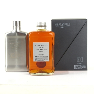 Nikka Whisky From The Barrel 50cl / with Hip Flask