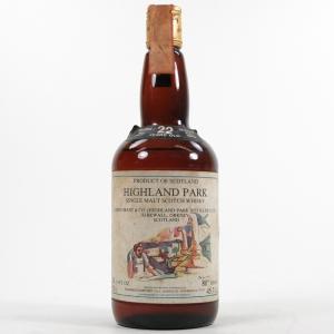 Highland Park 1957 Samaroli 22 Year Old / Original 1979 Release