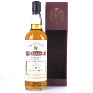 Tomatin 1994 Cadenhead's 23 Year Old Sherry Cask