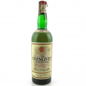 Glenlivet 12 Year Old 1980s / Giovinetti Import