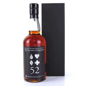 Chichibu 2010 Ichiro's Malt Single Cask #2628 / Fifty Two Seats of Happiness