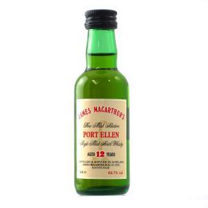 James MacArthur's Port Ellen 12 Year Old Miniature 5cl
