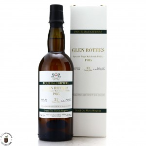 Glenrothes 1985 Velier 31 Year Old Drop by Drop / 70th Anniversary