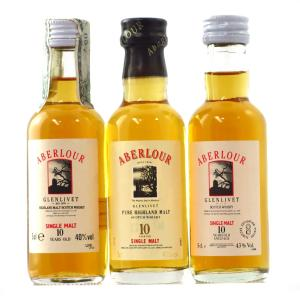 Aberlour 10 Year Old Miniature Selection 3 x 5cl