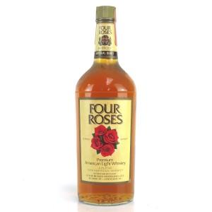Four Roses Premium American Light Whiskey 1 Quart 1970s