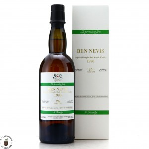 Ben Nevis 1990 Velier 26 Year Old Drop by Drop / 70th Anniversary