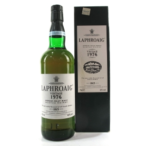 Laphroaig 1976 Vintage