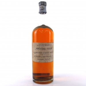 A.R. Wilson & Son Special Club Old Scotch Whisky 1930s