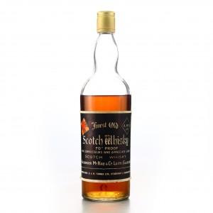 Alexander McNab Finest Old Scotch Whisky 1960s