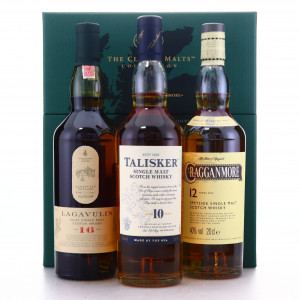 Classic Malts Collection 3 x 20cl / Lagavulin, Talisker, Cragganmore