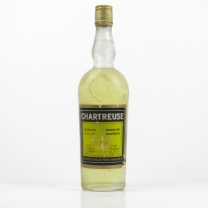 Chartreuse De Voiron Yellow Label 1970s