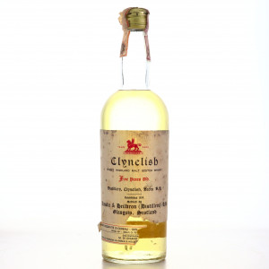 Clynelish 5 Year Old Ainslie and Heilbron 1960s / Di Chiano Import