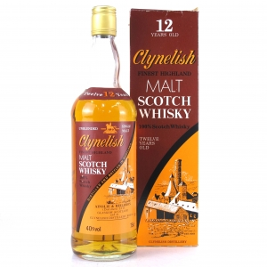 Clynelish 12 Year Old Ainslie and Heilbron 1980s