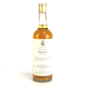 Macallan 1969 Averys for Corti 8 Year Old / US Import